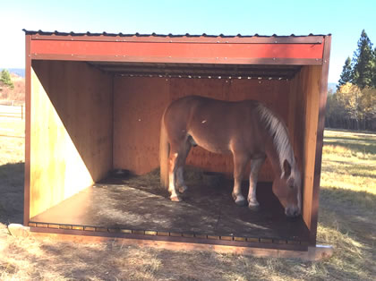 Horse Shed Kit Diy Portable Loafing Shelter