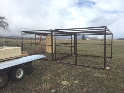 Horse Shed Kit Diy Portable Loafing Shelter