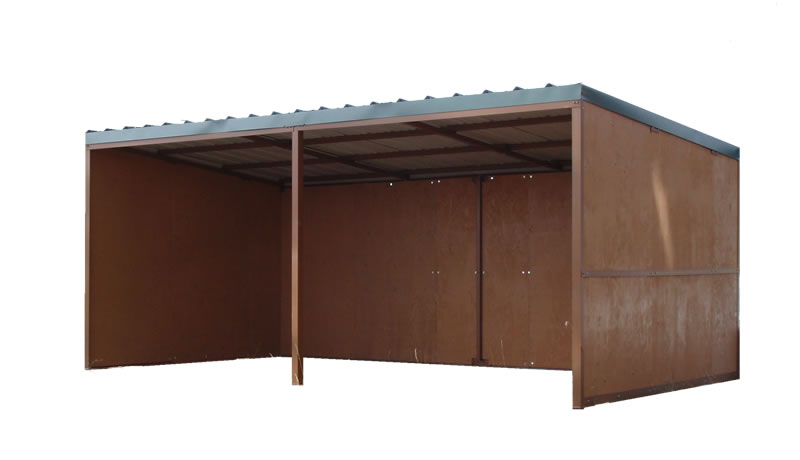 10 x 20 loafing shed